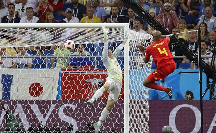 Bélgica liquida a Japón con remontada en octavos de final #Rusia2018