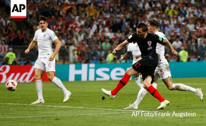 Croacia tumba a Inglaterra en otro alargue y jugará la final #Rusia2018