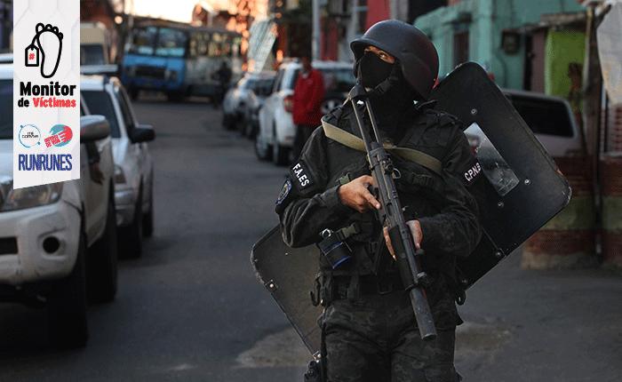 #MonitordeVíctimas | En mayo cada 19 horas una persona fue ejecutada por la policía en Caracas