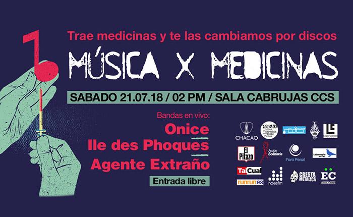 """Ayuda a enfrentar la emergencia humanitaria en el evento """"Música por Medicinas"""""""
