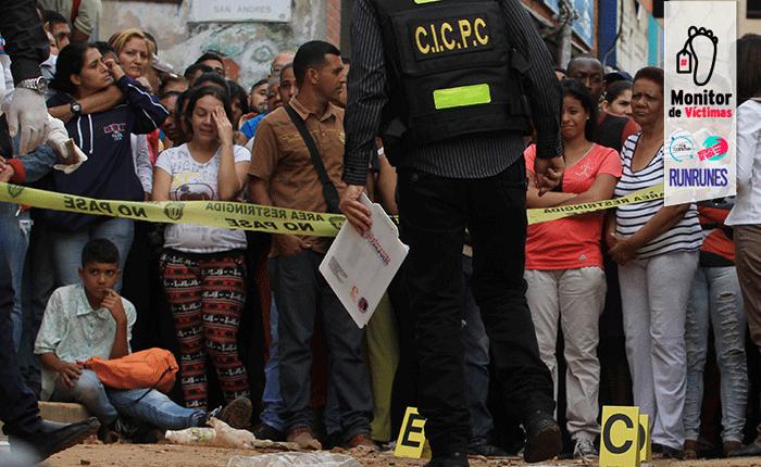MIJP: 6.363 homicidios se cometieron durante el primer semestre del año en todo el país