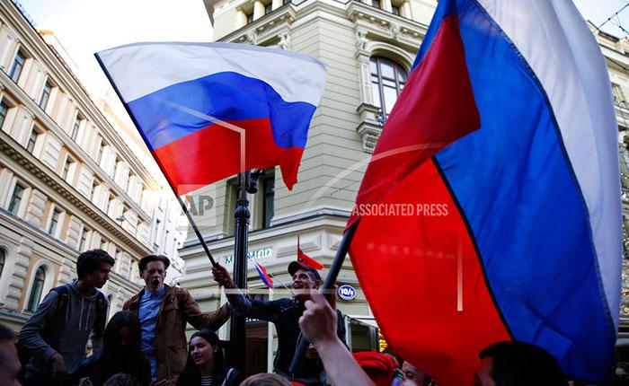 Rusia: la euforia de ganar en casa