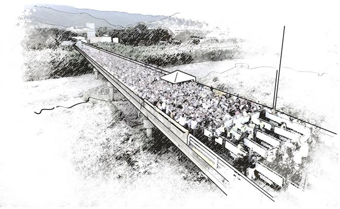 Puente Simón Bolívar: el testigo de una crisis