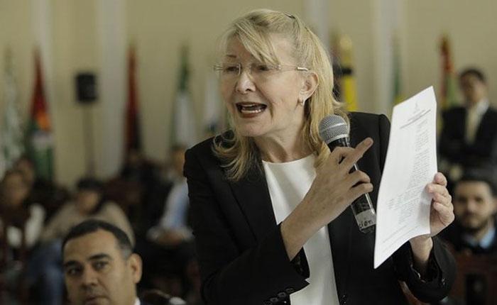 """Luisa Ortega Díaz: """"Nicolás Maduro es un prófugo de la justicia"""""""
