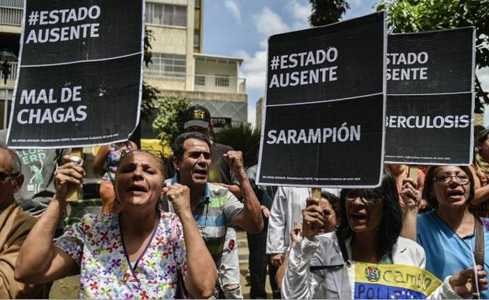 2.163 protestas registró el OVCS en todo el país en julio