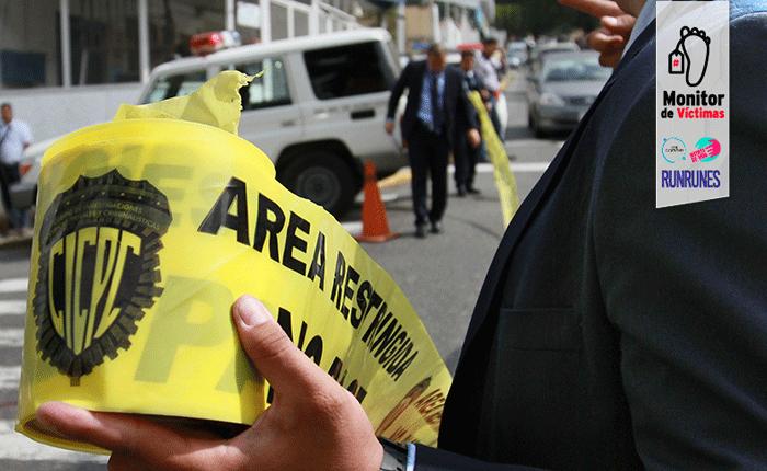 #MonitordeVíctimas   Un muerto y dos heridos deja intento de robo a policía en El Paraíso