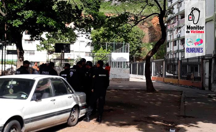 #MonitordeVíctimas   Tres muertos en operativo madrugador del FAES en el 23 de Enero