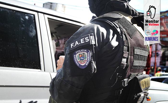 #MonitordeVíctimas | FAES mató a presunto asesino de un PNB y su esposa