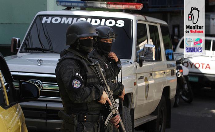 #MonitordeVíctimas   Cinco muertos deja un madrugonazo de las FAES en Caracas
