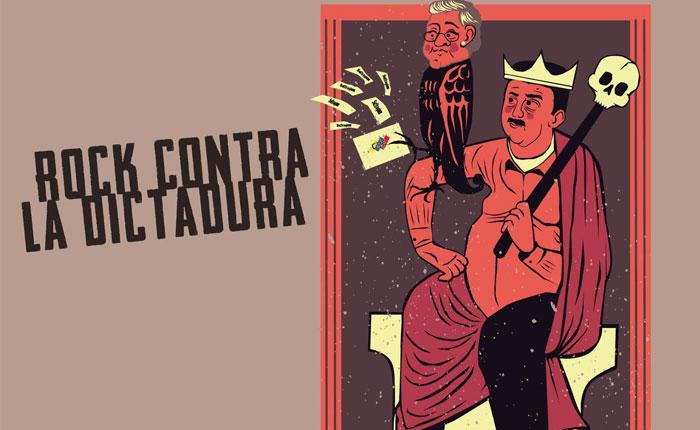 """Redes Ayuda y Provea lanzan segundo volumen de disco """"Rock contra la dictadura"""""""
