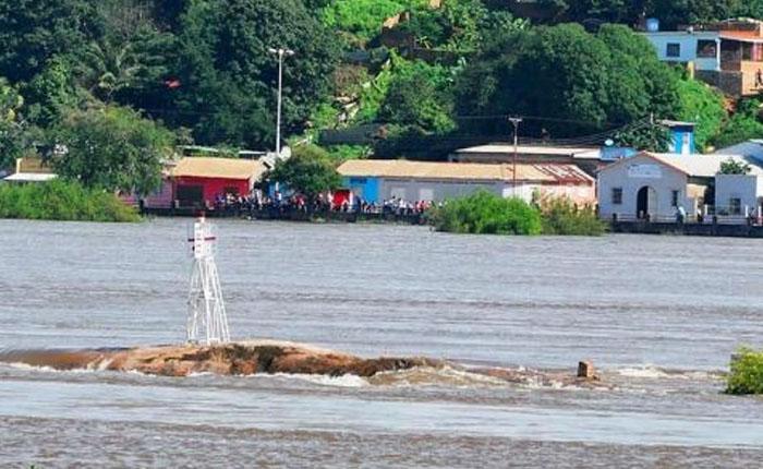 Estado Bolívar en alerta roja por crecida del río Orinoco