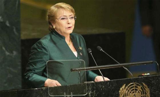 Informe oral de Bachelet evidencia la institucionalización de la tortura