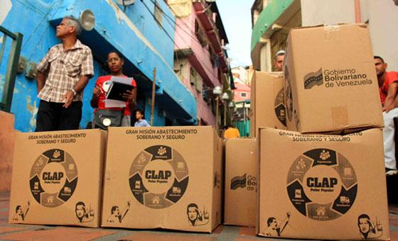 Alcalde de San Carlos anuncia que distribución de cajas CLAP llegó a su fin