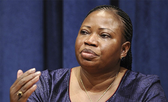 EE UU revocó visa de la fiscal jefe de la Corte Penal Internacional