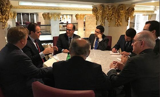 Oposición se reunió en Washington con el Consejero de Seguridad Nacional de la Casa Blanca