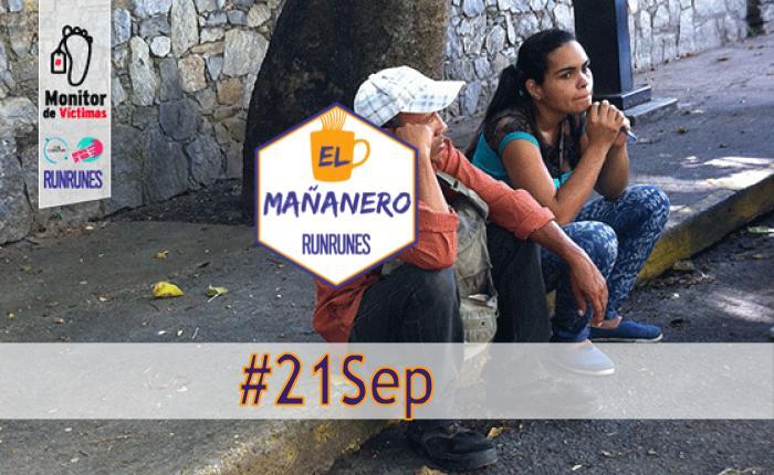 El Mañanero #21Sep: las 8 noticias que debes saber