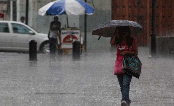 Inameh pronostica lluvias en todo el país por remanentes de tormenta Kirk