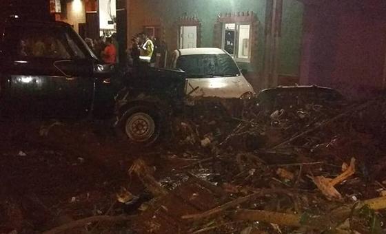 Lluvias en San Cristóbal dejaron 30 damnificados