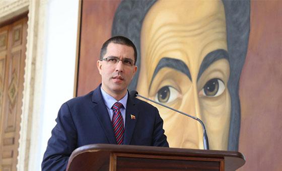 Arreaza denuncia intento de golpe de Estado promovido desde la Casa Blanca