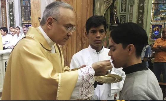 El arzobispo venezolano Edgar Peña será el número 3 del Vaticano