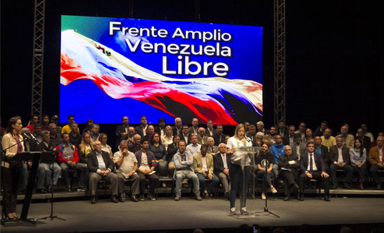 Frente Amplio acuerda convocar protestas para el 10E