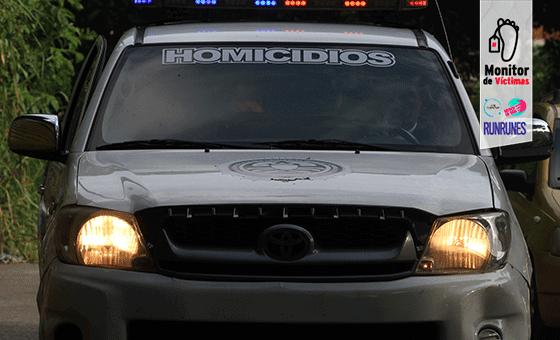 Muere vigilante de 50 años por una bala perdida en la Cota 905