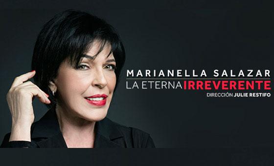 """""""La eterna irreverente"""" de Marianella Salazar regresa con tres funciones en el Centro Cultural BOD"""