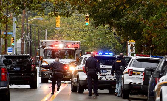Once muertos y seis heridos deja el tiroteo en una sinagoga de EEUU