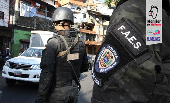 #MonitordeVíctimas | Denuncian que las FAES ejecutaron a un hombre frente a sus vecinos en Altavista