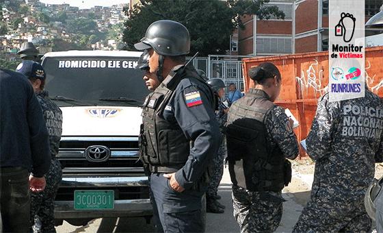 #MonitordeVíctimas | Fiscalía imputa a cuatro PNB por homicidio de niño en la Av. Bolívar