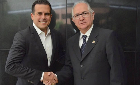 Antonio Ledezma: A la reunión de Puerto Rico solo están invitados los que creen en la transición