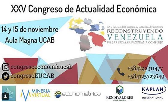 Estudiantes de la UCAB recaudan fondos para realizar XXV congreso de actualidad económica