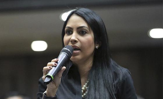 Delsa Solórzano niega implicación en supuesto plan para asesinar a Freddy Bernal