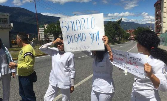Enfermeras de Aragua temen más al hambre que al COVID-19