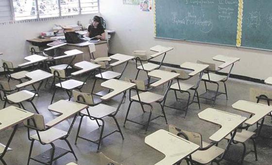 Maestros declararon en emergencia al sector educativo