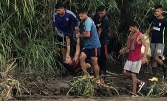 Dos fallecidos y otros cinco desaparecidos al intentar cruzar la frontera por el río Táchira