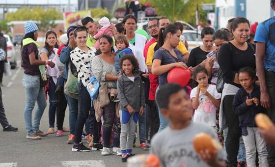 Venezolanos indocumentados podrán trabajar legalmente en Colombia