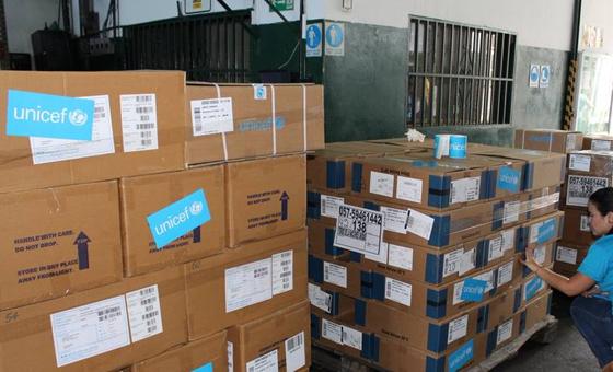 Unicef pide ayuda por $ 70 millones para asistir a niños en Venezuela