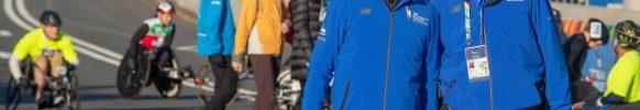 Ciaccia disfrutó su último Maratón de Nueva York como director. FOTO: Numa Roades.