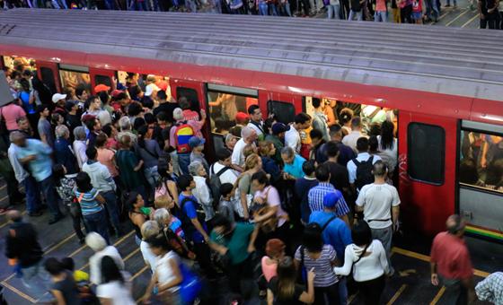"""Trabajador del Metro de Caracas: """"Ya estamos casi en un paro técnico"""""""