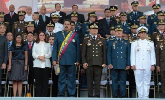 Maduro establece cerco militar para evitar posible insurrección