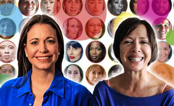 Maria Corina Machado y Valentina Quintero entre las 100 mujeres más influyentes según la BBC
