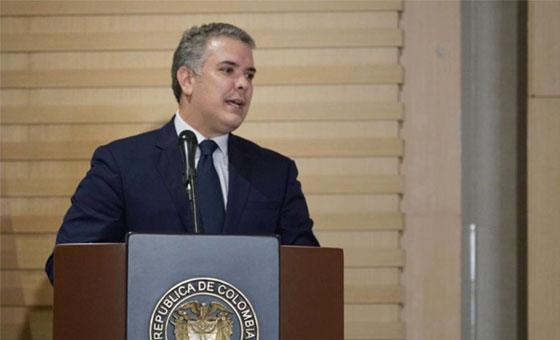 Presidente Duque dice estar satisfecho con explicación de Guaidó por polémicas fotos