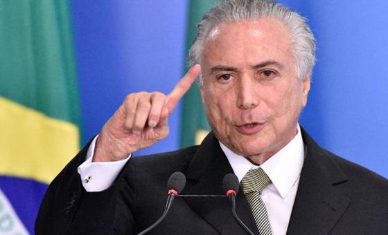 Juez ordena liberar al expresidente de Brasil Michel Temer