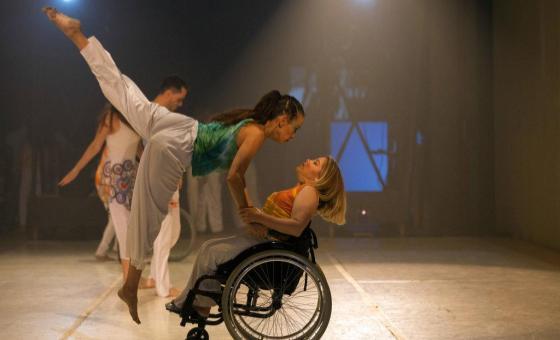 Discapacitados venezolanos vencen barreras a través de la danza