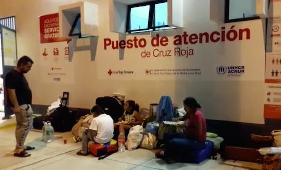 Así vivieron los venezolanos la Navidad en la frontera de Perú