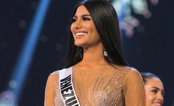 Sthefany Gutiérrez expuso la crisis de Venezuela en el Miss Universo