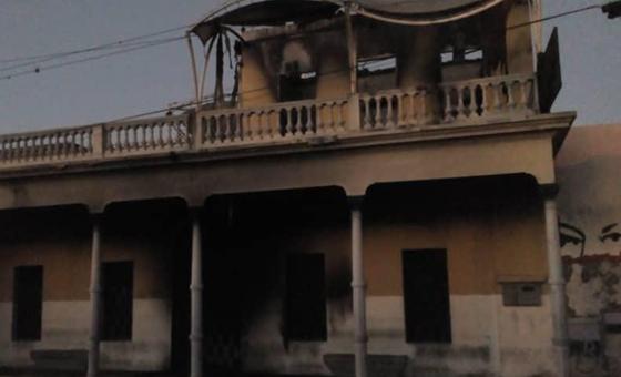 Durante protesta, vecinos de La Pastora quemaron casa de Robert Serra