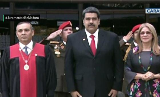 Nicolás Maduro asume mandato presidencial para el período 2019-2025
