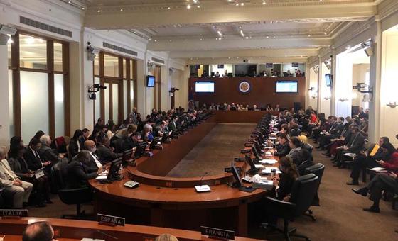 OEA acuerda no reconocer legitimidad del Gobierno de Nicolás Maduro